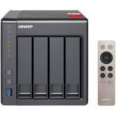 SERVIDOR NAS QNAP TS-451+ 2GB ALMACENAMIENTO RED USB 2.0 USB 3.0  GIGABIT RJ45