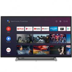 "TV TOSHIBA 65"" LED 4K UHD/ 65UA3A63DG/ ANDROID TV/ WIFI/ SOUND BY ONKIO / HDR10/  HD DVB-T2/C/S2/ BLUETOOTH/ DOLBY VISION/"