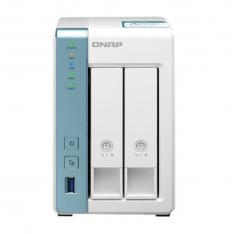 SERVIDOR NAS QNAP TS-231K 1 GB  ETHERNET GIGABIT