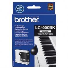 CARTUCHO TINTA BROTHER LC1000BK NEGRO 500 PAGINAS FAX1360/ 1560/ MFC-3360C/ MFC-5860CN/ DCP-350C