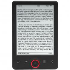"LIBRO ELECTRONICO EBOOK DENVER EBO-635L 6"" / E-LINK / FRONT LIGHT / 4GB / MICRO USB"