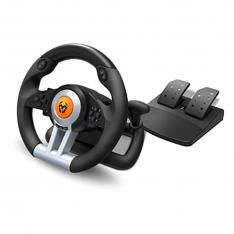 VOLANTE KROM K-WHEEL GAMING PC PS3 PS4 y XBOX ONE