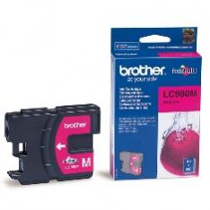 CARTUCHO TINTA BROTHER LC980M MAGENTA 400 PAGINAS DCP-195C/ DCP-375CW/ MFC-250C/ MFC-255CW/ MFC-290C