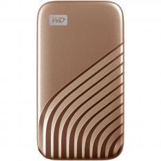 DISCO DURO EXTERNO HDD WD WESTERN DIGITAL 500GB MY PASSPORT SSD USB TIPO C GOLD
