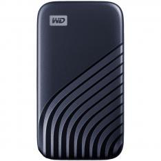 DISCO DURO EXTERNO HDD WD WESTERN DIGITAL 1TB MY PASSPORT SSD USB TIPO C BLUE