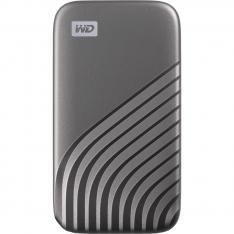 DISCO DURO EXTERNO HDD WD WESTERN DIGITAL 2TB MY PASSPORT SSD USB TIPO C GRIS