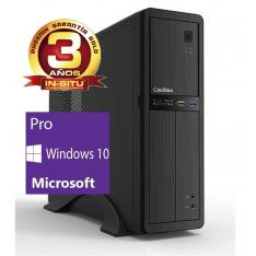 ORDENADOR DE OFICINA PHOENIX OBERON PRO INTEL CORE I5 10º GEN 8GB DDR4 480 GB SSD RW MICRO ATX SLIM  PC SOBREMESA WINDOWS 10 PRO