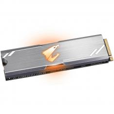 DISCO DURO INTERNO SOLIDO HD M2 SSD 256GB GIGABYTE AORUS RGB NVME 2280 LECTURA 3100MB/S ESCRITURA 1050MB/S GP-ASM2NE2256GTTDR