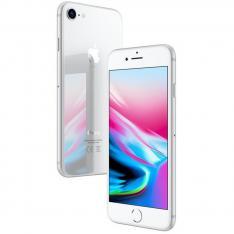 """TELEFONO MOVIL SMARTPHONE REWARE APPLE IPHONE 8 256GB SILVER / 4.7"""" / LECTOR HUELLA / REACONDICIONADO / REFURBISH / GRADO A+"""