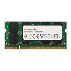 MEMORIA V7 2GB DDR2 PC6400 CL6 NON ECC SODIMM