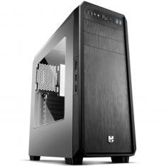 CAJA ORDENADOR GAMING NOX HUMMER ZS ATX USB 3.0 NEGRA SIN FUENTE VENTANA ACRILICA