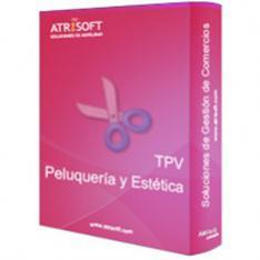 PROGRAMA TPV PELUQUERIAS Y ESTETICA ATRISOFT LICENCIA ELECTRONICA CODIGO ACTIVACION EN FACTURA