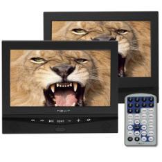 "DVD PORTATIL NEVIR 10.1"" X2 NVR-2778DVD-PDCU NEGRO USB"