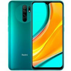 "TELEFONO MOVIL SMARTPHONE XIAOMI REDMI 9 OCEAN GREEN/ 6.53""/ 32GB ROM/ 3GB RAM/ 13+8+5+2MPX/ 8MPX/ 5020MAH/ 4G/ HUELLA/ OCTA CORE"