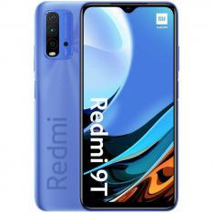 """TELEFONO MOVIL SMARTPHONE XIAOMI REDMI 9T TWLIGHT BLUE/ 6.53""""/ 64GB ROM/ 4GB RAM/ 48+8+2+2MPX/ 8MPX/ 6000 mAh/ 4G/ HUELLA/ OCTA CORE"""