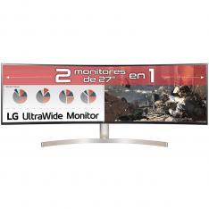 "MONITOR LED LG CURVO 49WL95C-W 49"" DUAL QHD 5120 X 1440 5MS HDMI DISPLAY PORT USB-C ALTAVOCES"