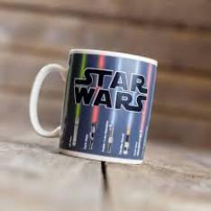 Taza Térmica Star Wars Espadas Láser