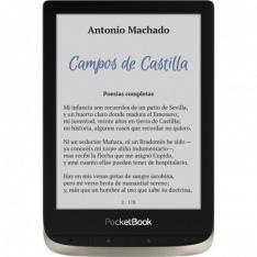 "POCKETBOOK COLOR EREADER 6"" 16GB PLATA LUNA"