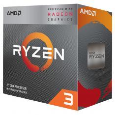MICRO. PROCESADOR AMD RYZEN 3 3200G 4 CORE 3.6GHZ 4MB AM4 RADEON VEGA 8