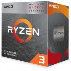 MICRO. PROCESADOR AMD RYZEN 3 3200G 4 CORE 3.6GHZ 4MB AM4 RADEON VEGA 8 C