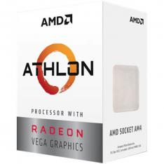 MICRO. PROCESADOR AMD ATHLON 3000G 2 CORE 3.5GHZ 4MB AM4 RADEON RX VEGA 3