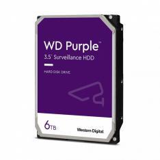 "DISCO DURO INTERNO HDD WD WESTERN DIGITAL PURPLE WD62PURZ 6TB 3.5"" SATA  128MB"