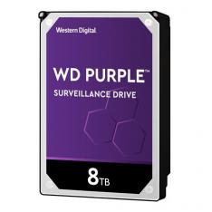 "DISCO DURO INTERNO HDD WD WESTERN DIGITAL PURPLE WD82PURZ 8TB 3.5"" SATA3 7200RPM 256MB"