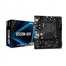 PLACA BASE ASROCK AMD AM4 B550M-HDV DDR4X2 4GB HDMI MICRO ATX