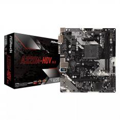PLACA BASE ASROCK AMD AM4 A320M HDV DDR4X2 32GB DVI-D HDMI MICRO ATX