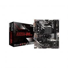 PLACA BASE ASROCK AM4 A320M-DVS R4.0 M-ATX / 2XDDR4 / 4XSATA3 / 2XUSB+1XUSB3.0 FP 90-MXB9M0-A0UAYZ