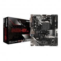 PLACA BASE ASROCK AMD AM4 B450M HDV DDR4X2 32GB DVI-D HDMI MICRO ATX