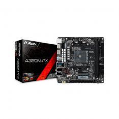PLACA BASE ASROCK AM4 A320M-ITX M-ITX / 2XDDR4 / 4XSATA3 / 1XUSB 2.0+1XUSB 3.1 90-MXB7X0-A0UAYZ
